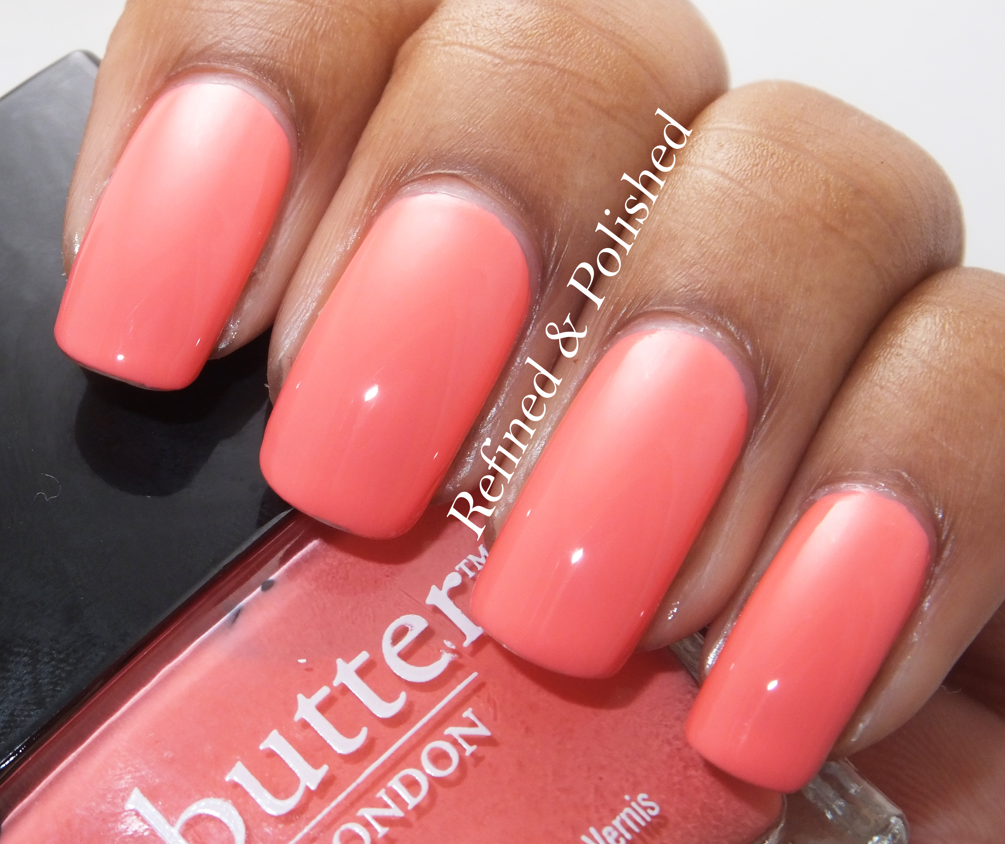 Reader's Choice Monday - Butter LONDON Trout Pout - Refined and Polished