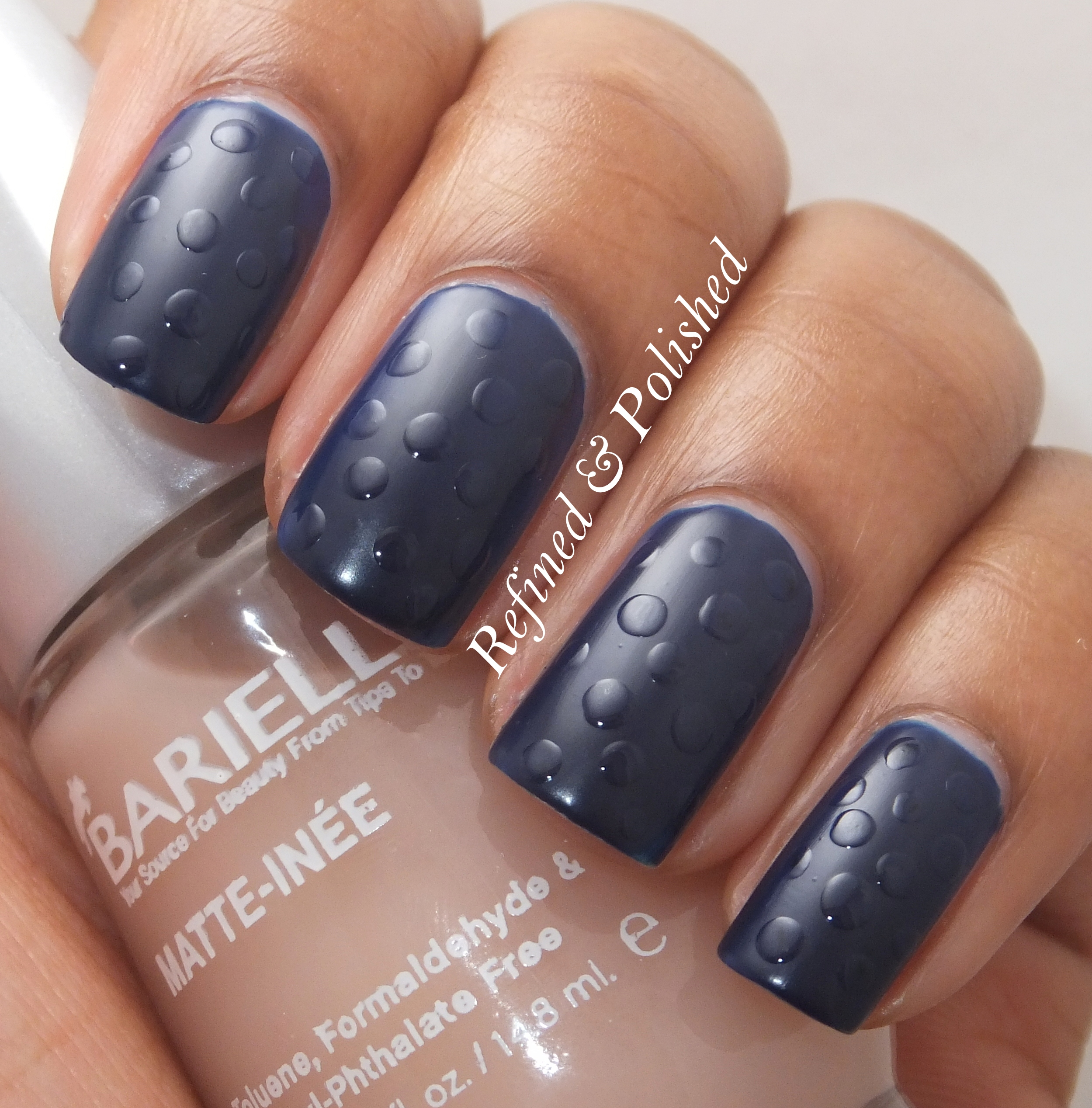Barielle Berry Blue & Matte-inee - Refined and Polished