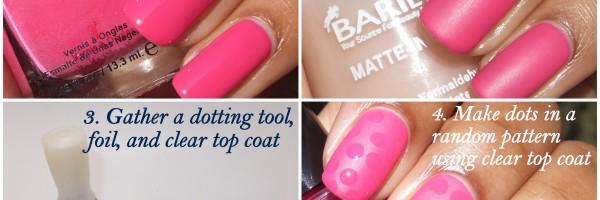 Barielle Matte Glossy Dots-001