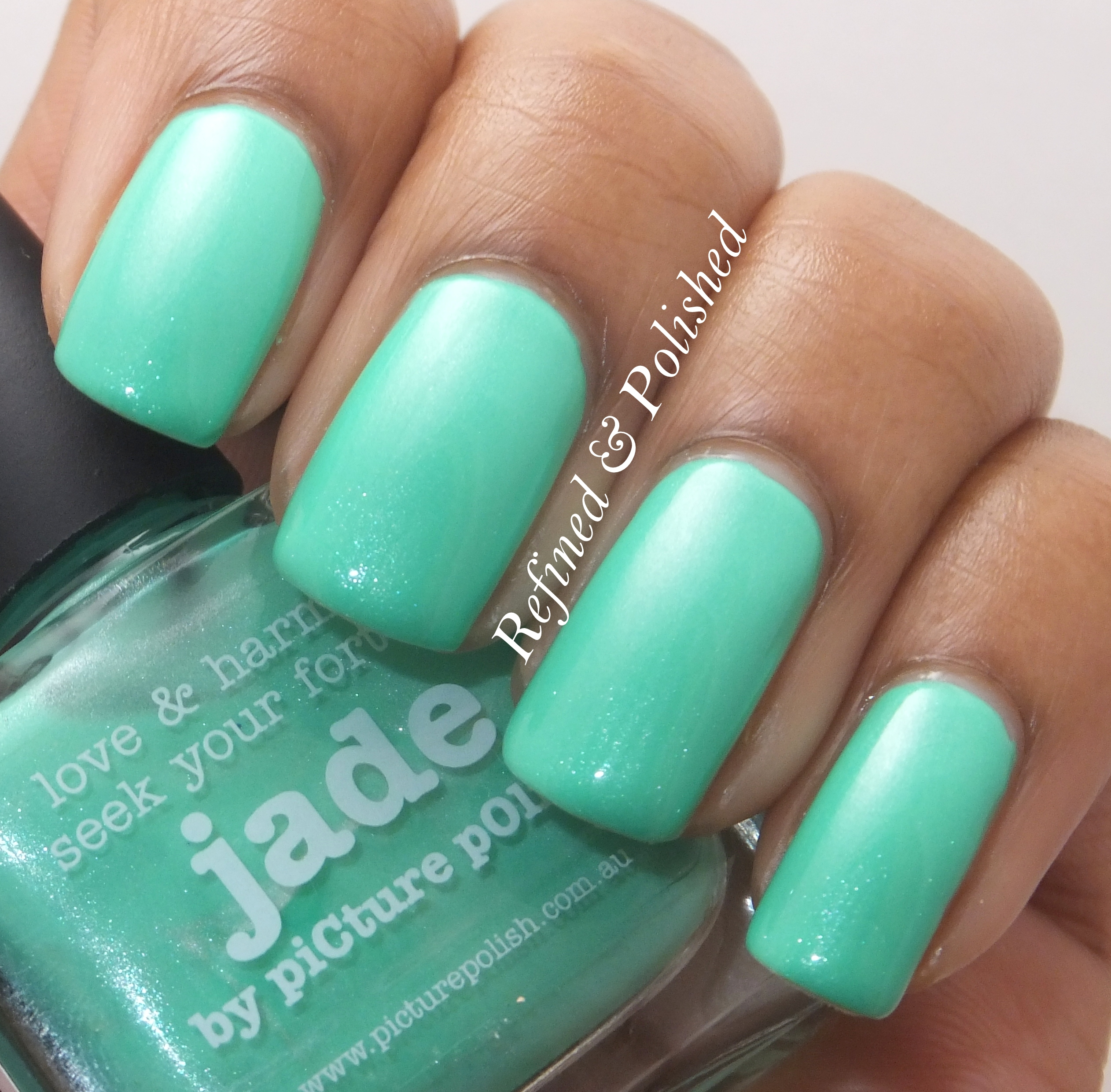 piCture pOlish Jade - Refined and Polished