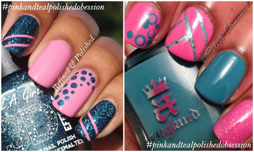 Pink & Teal Contest