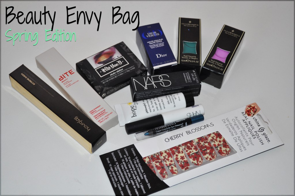 Spring Beauty Envy Bag