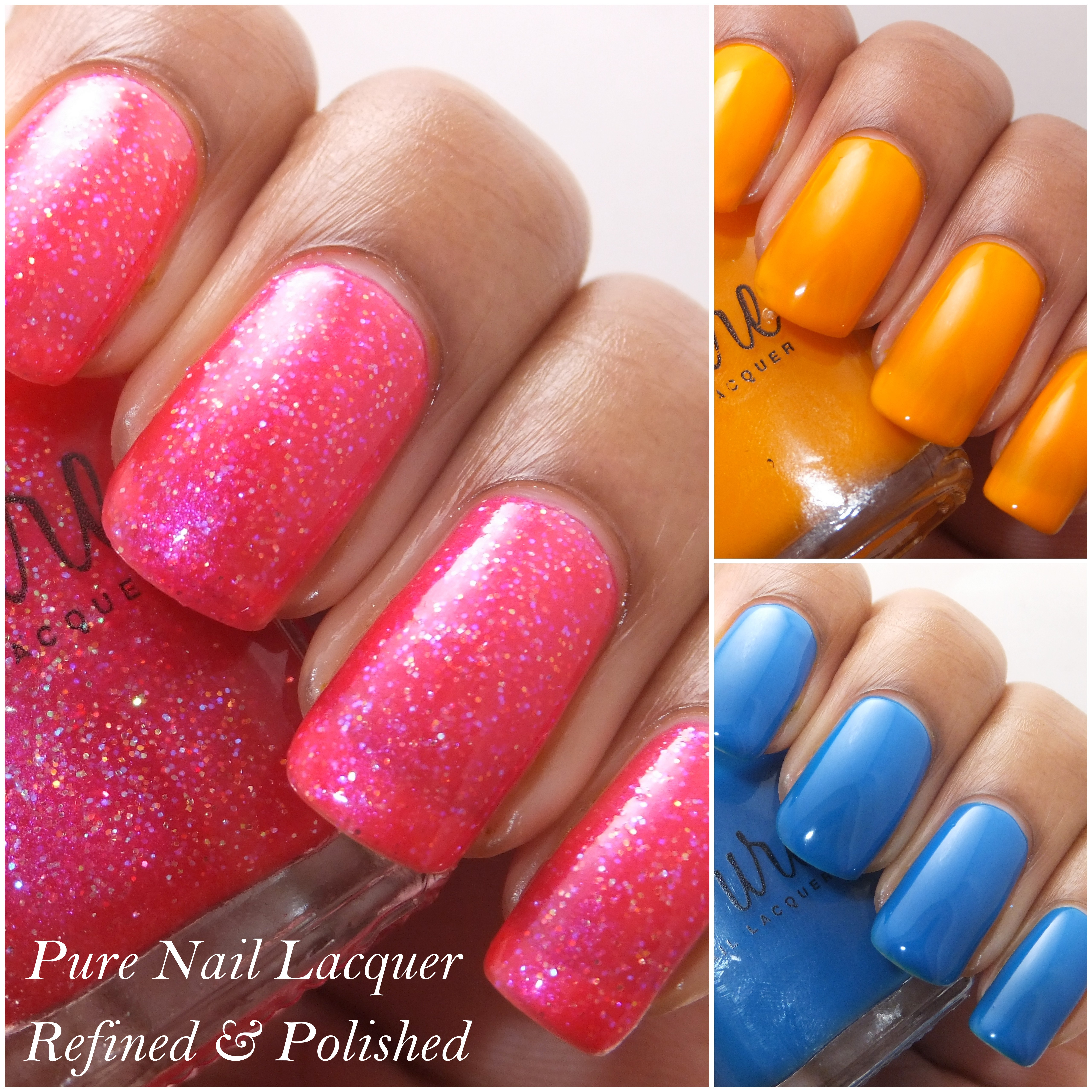 PURE Nail Lacquer Selections