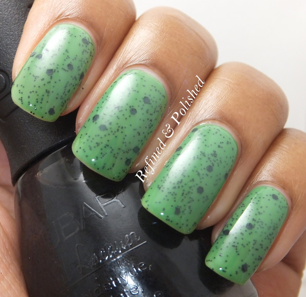 Green Speckled