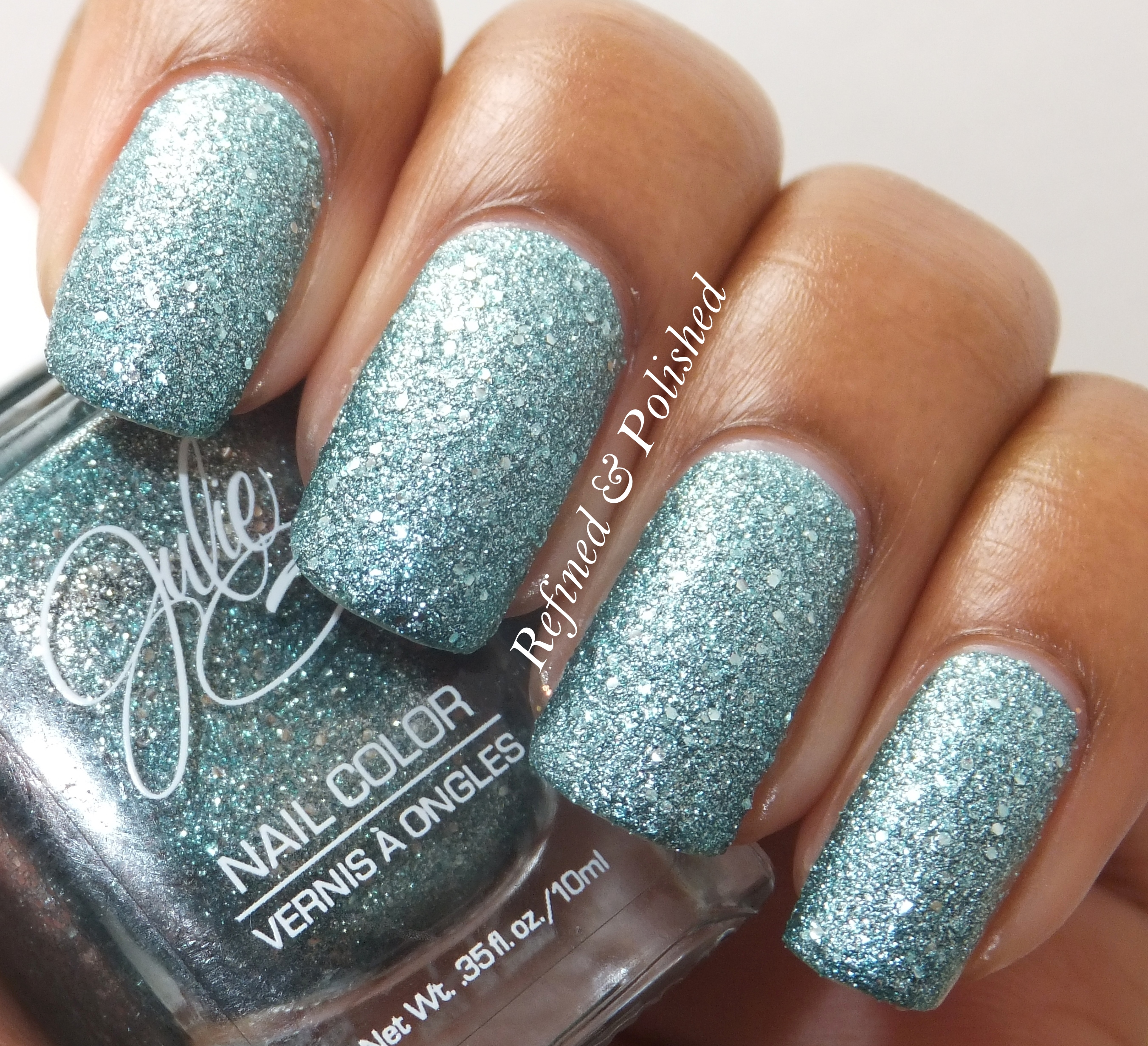 Twinsie Tuesday ~ Textured Nails ~ JulieG Rock Candy - Refined and ...