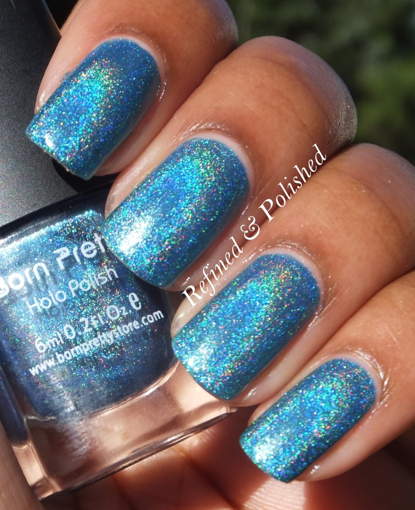 BornPretty Holo Polish #8