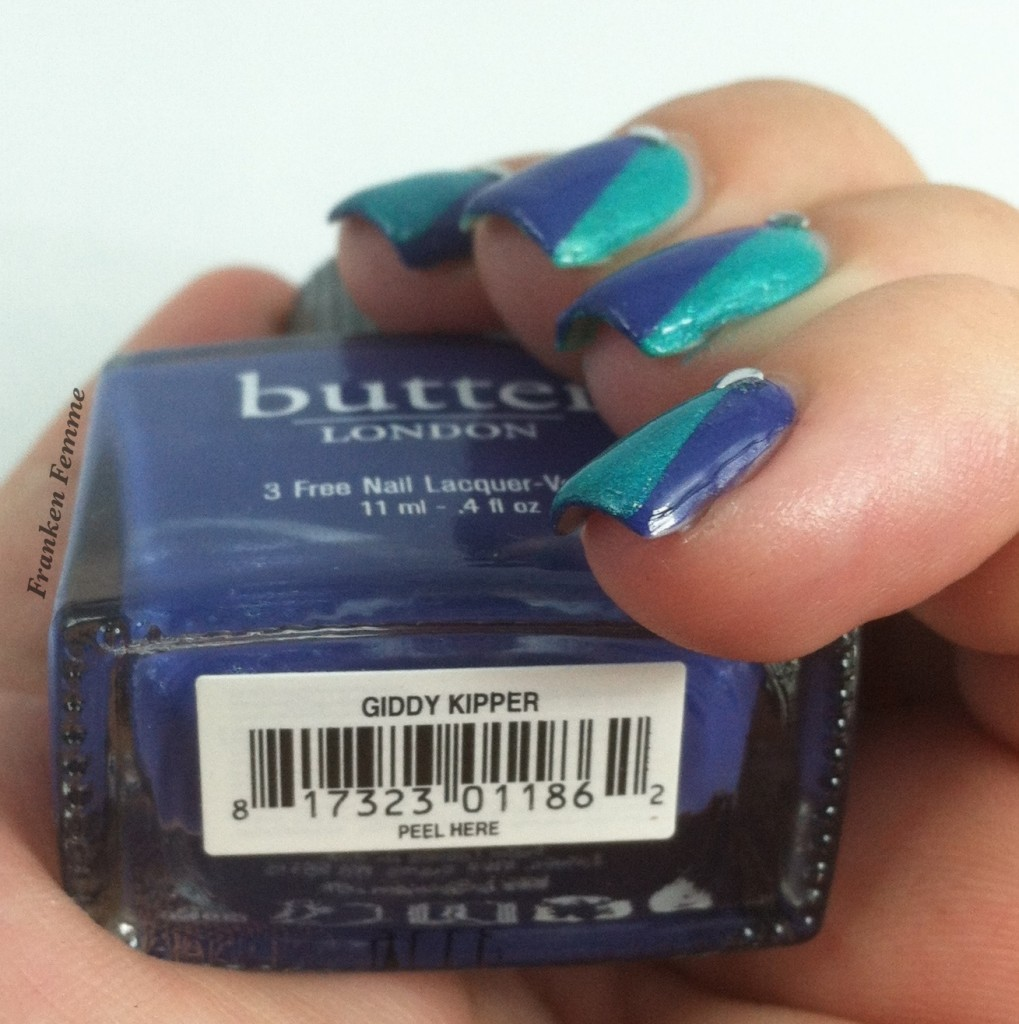 Butter London Giddy Kipper Side Swatch