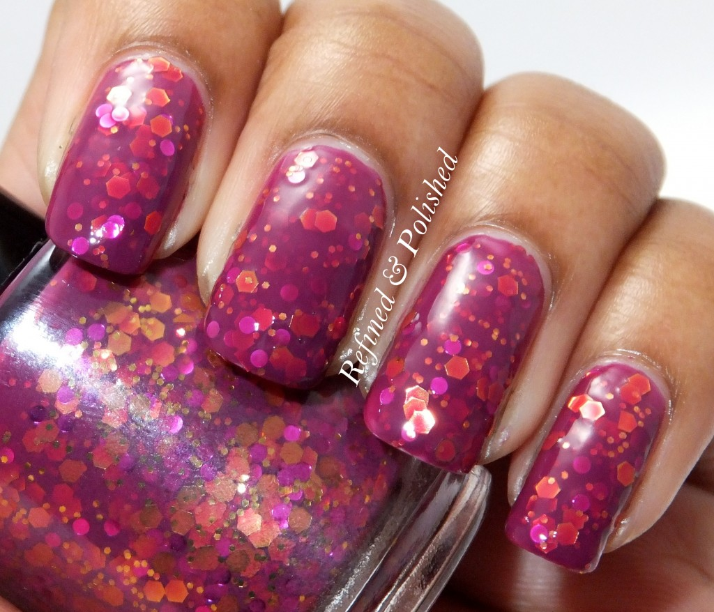 Pretty & Polished When Hearts Kaleidoscope