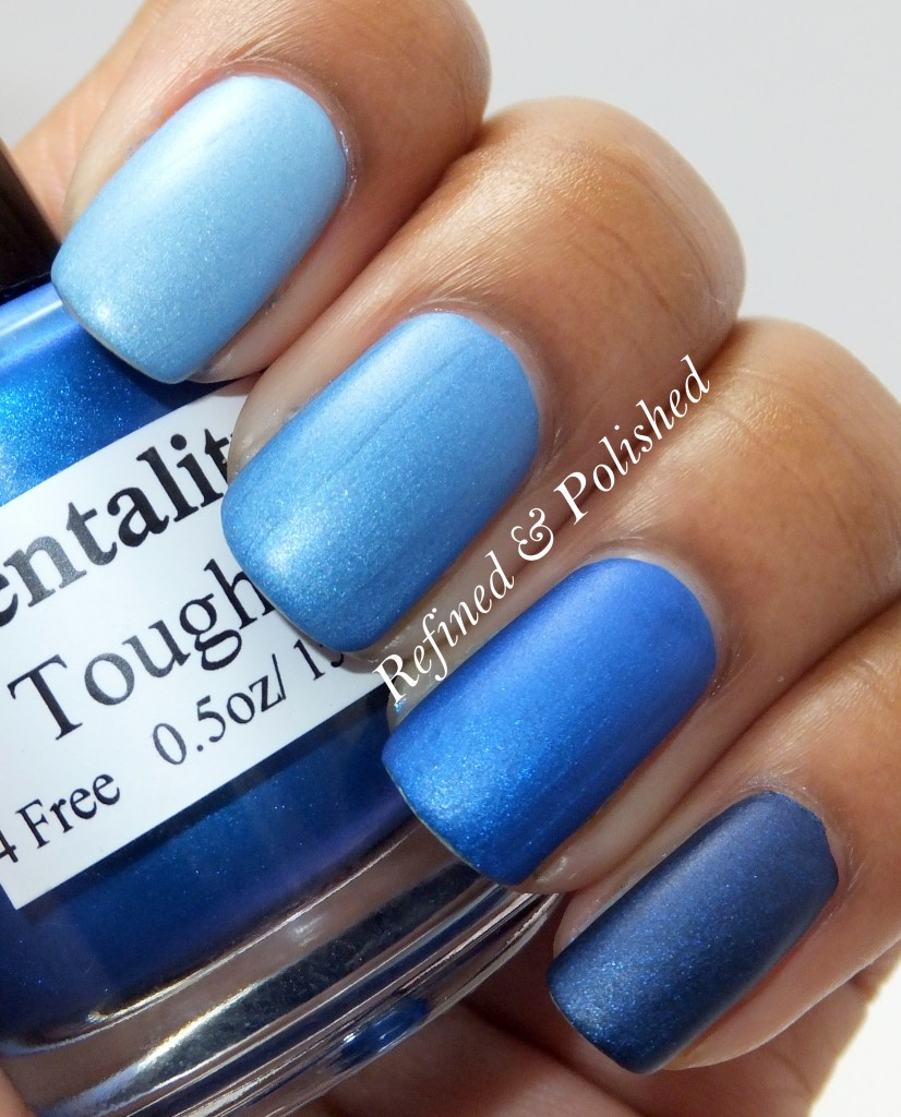 Mentality Blue Mattes Ombre