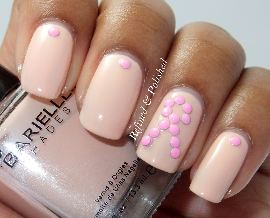 BornPretty Pastel Pink Studs