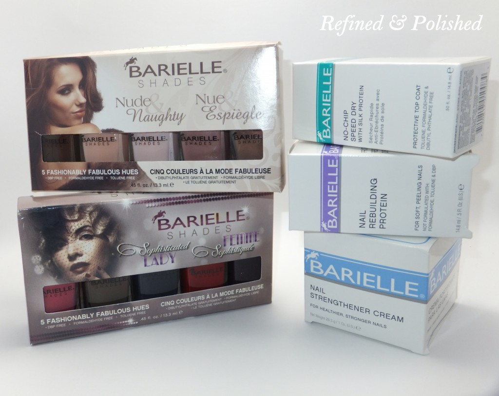Barielle Sophisticated Lady & Nude & Naughty Giveaway