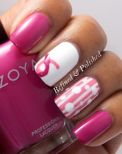 Breast Cancer Awareness ~ Dots and Stripes
