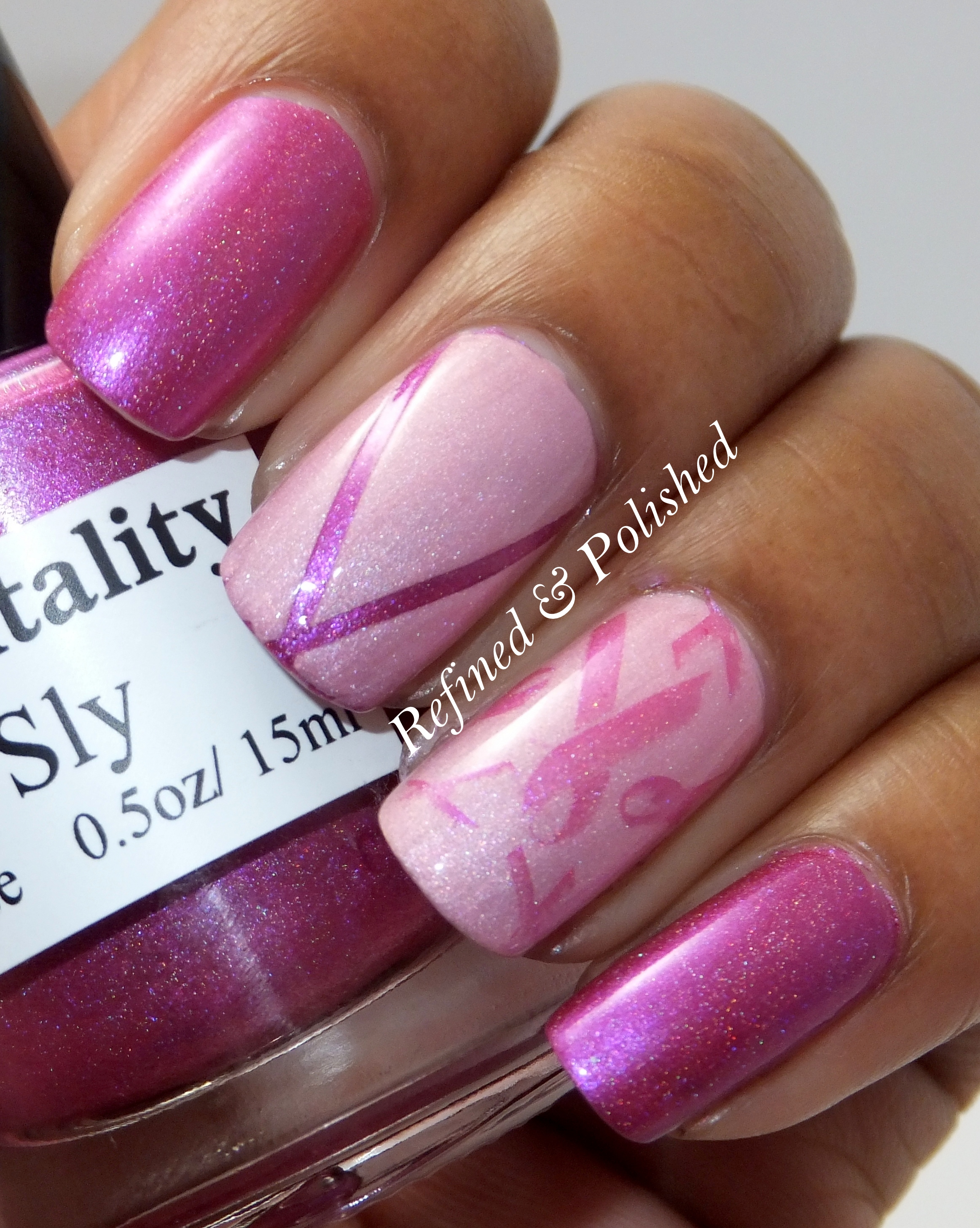 Breast Cancer Awareness ~ Mentality Sly & Duchess - Refined and Polished
