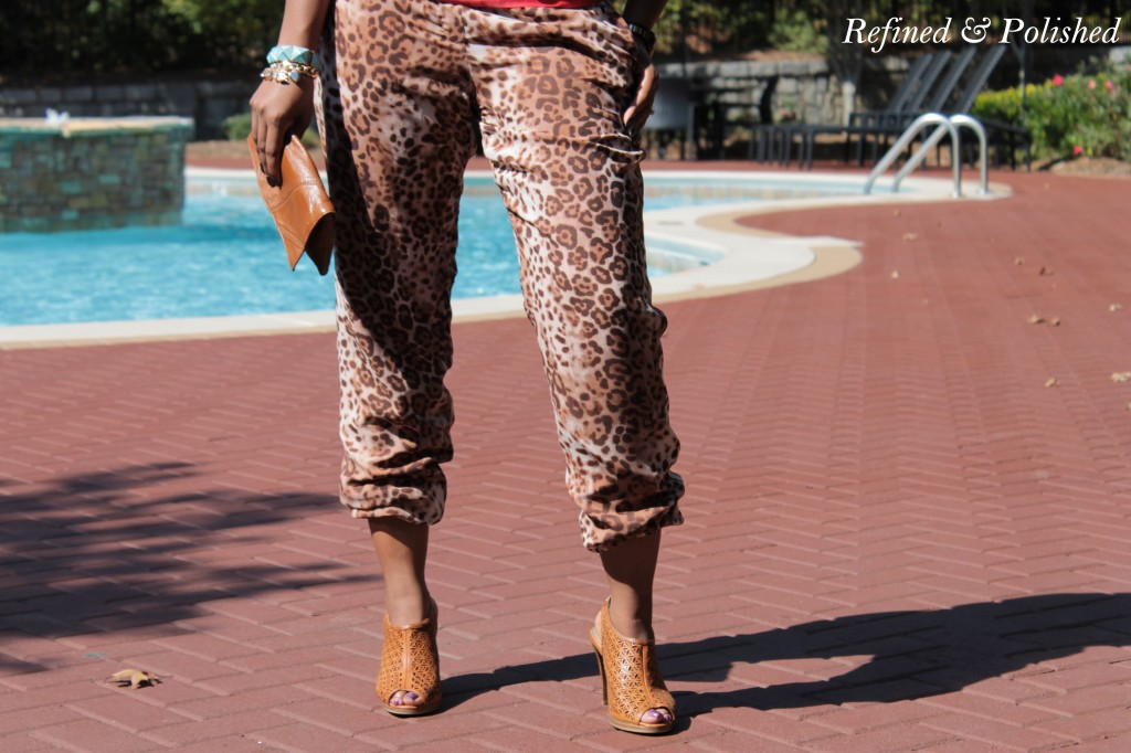 Adorned Boutique & Leopard Pants