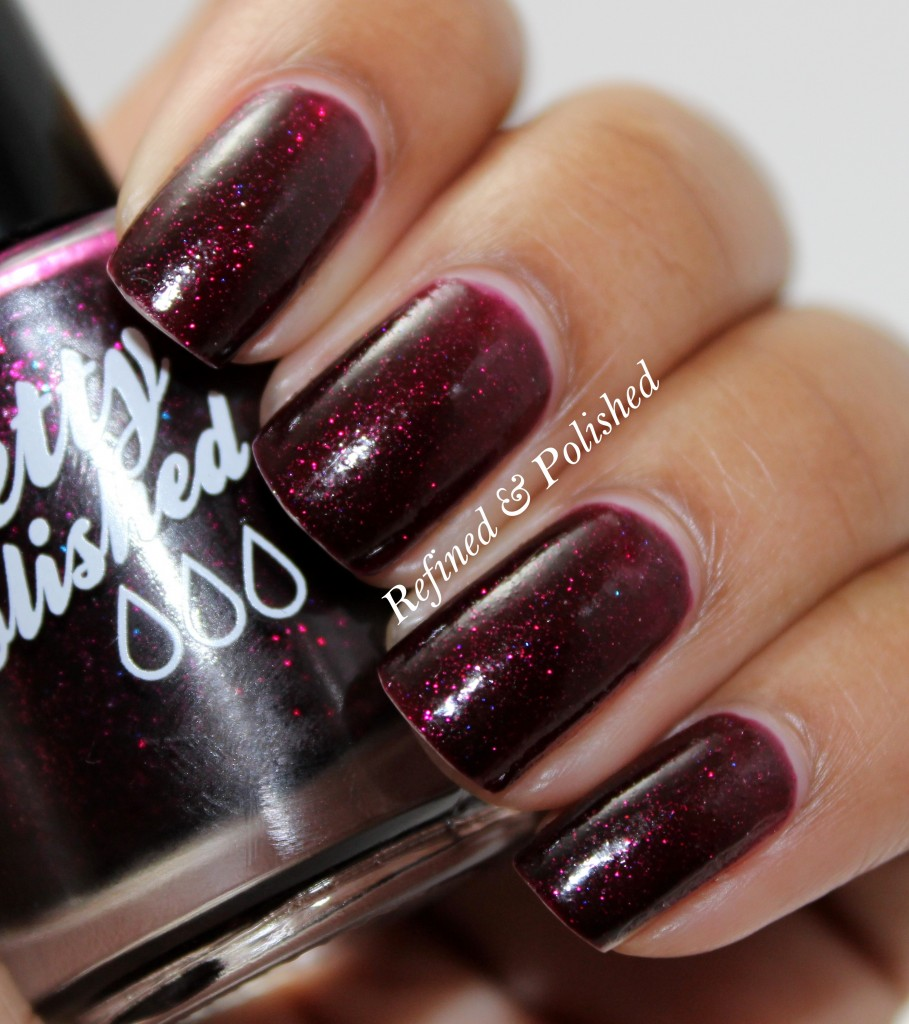 Pretty & Polished Fireside Kiss