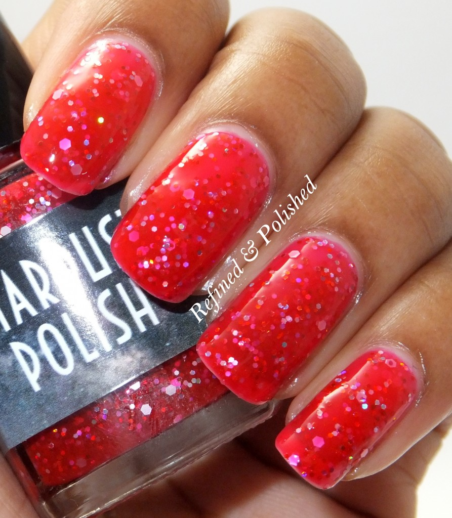 Stardust Polish I'm Seeing Red