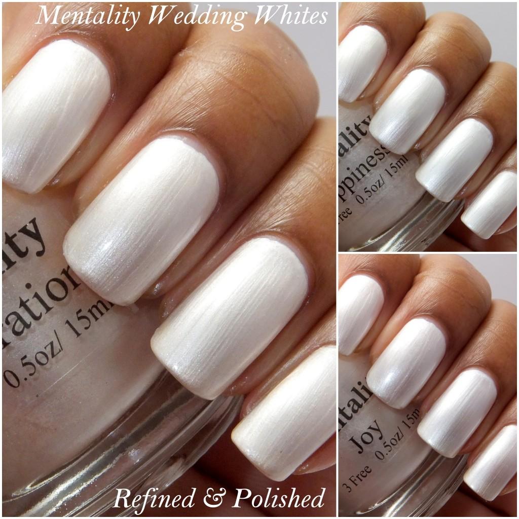 Mentality Wedding Whites Collection