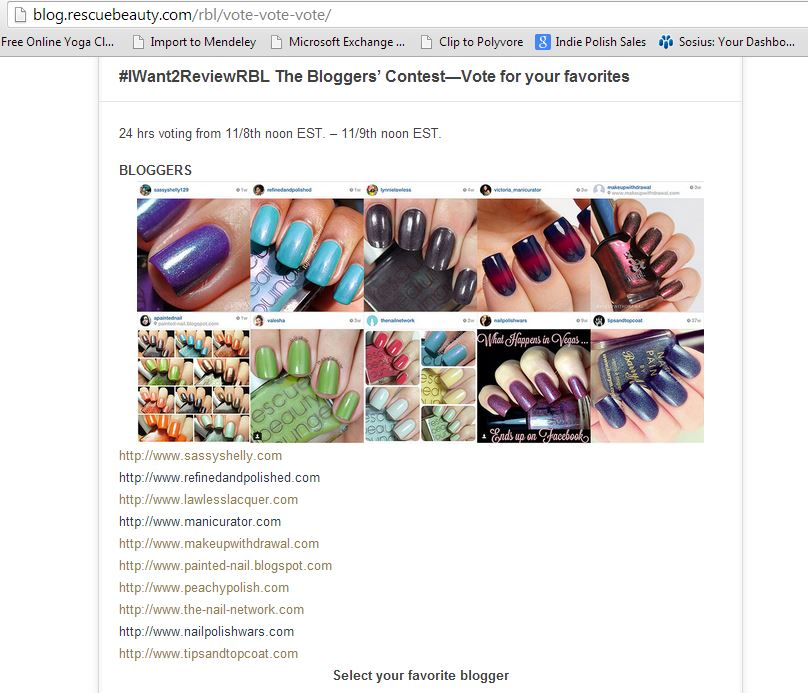 RBL Blogger Contest