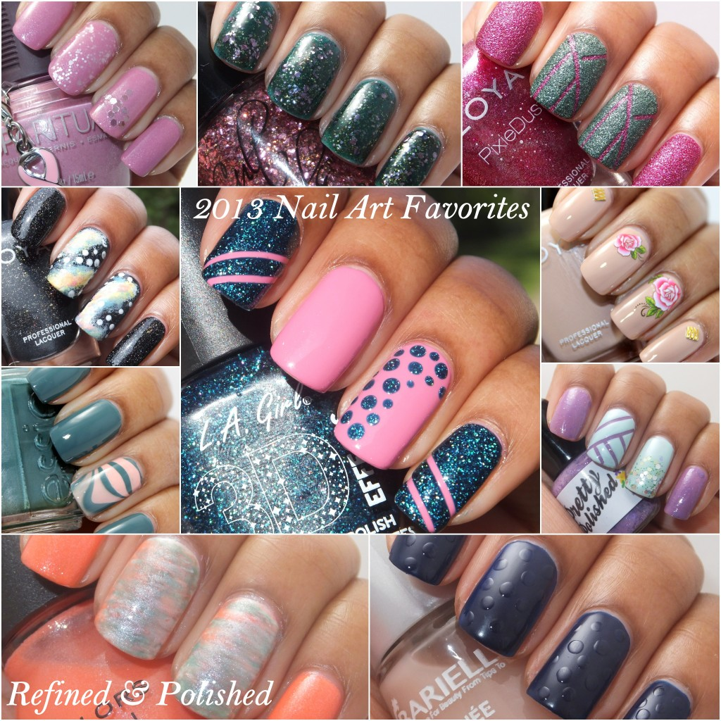 2013 Nail Art Favorites