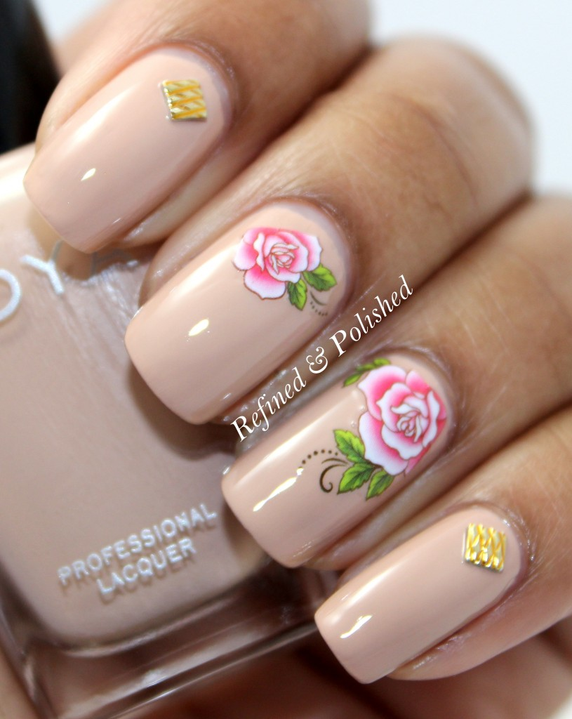 BornPretty Rose Water Decal