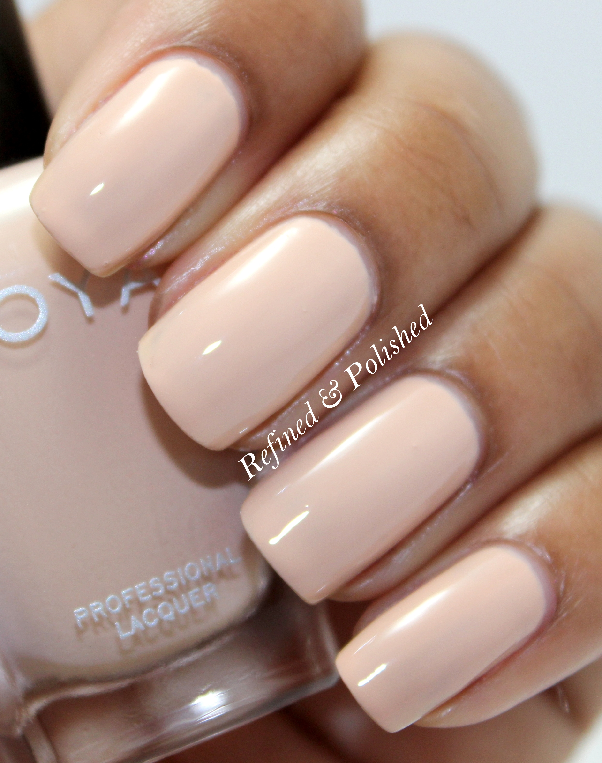 Zoya Naturel Collection Refined And Polished