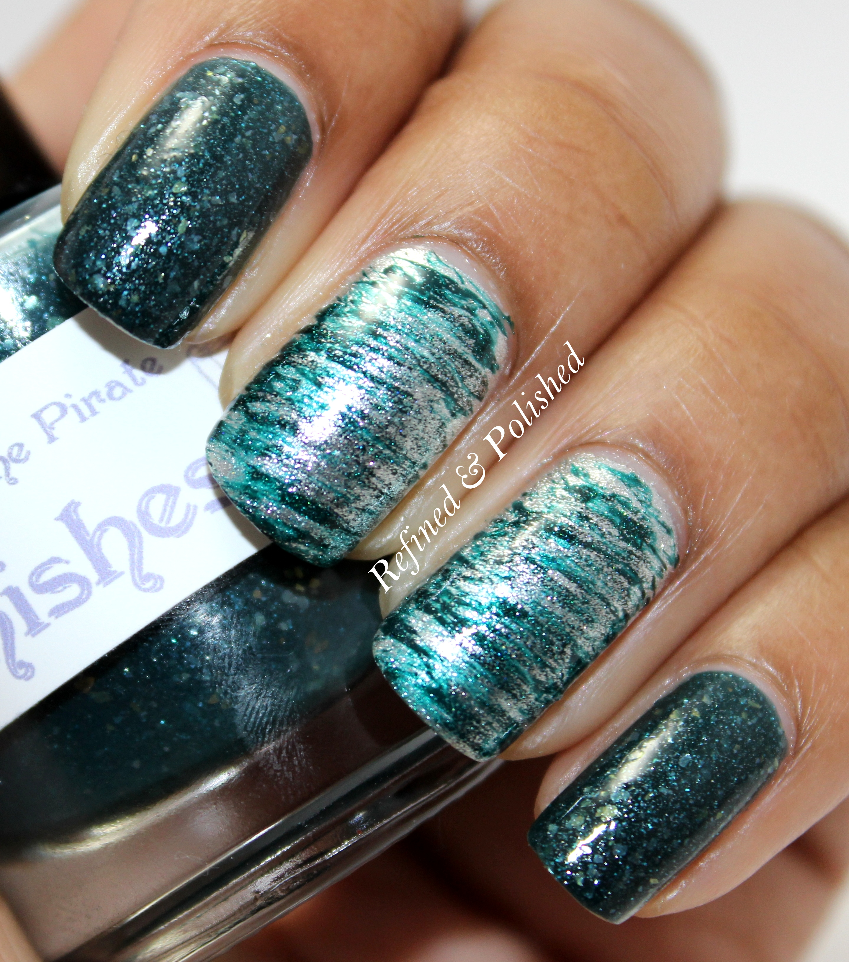 Busy Girl Nails Winter Nail Art Challenge