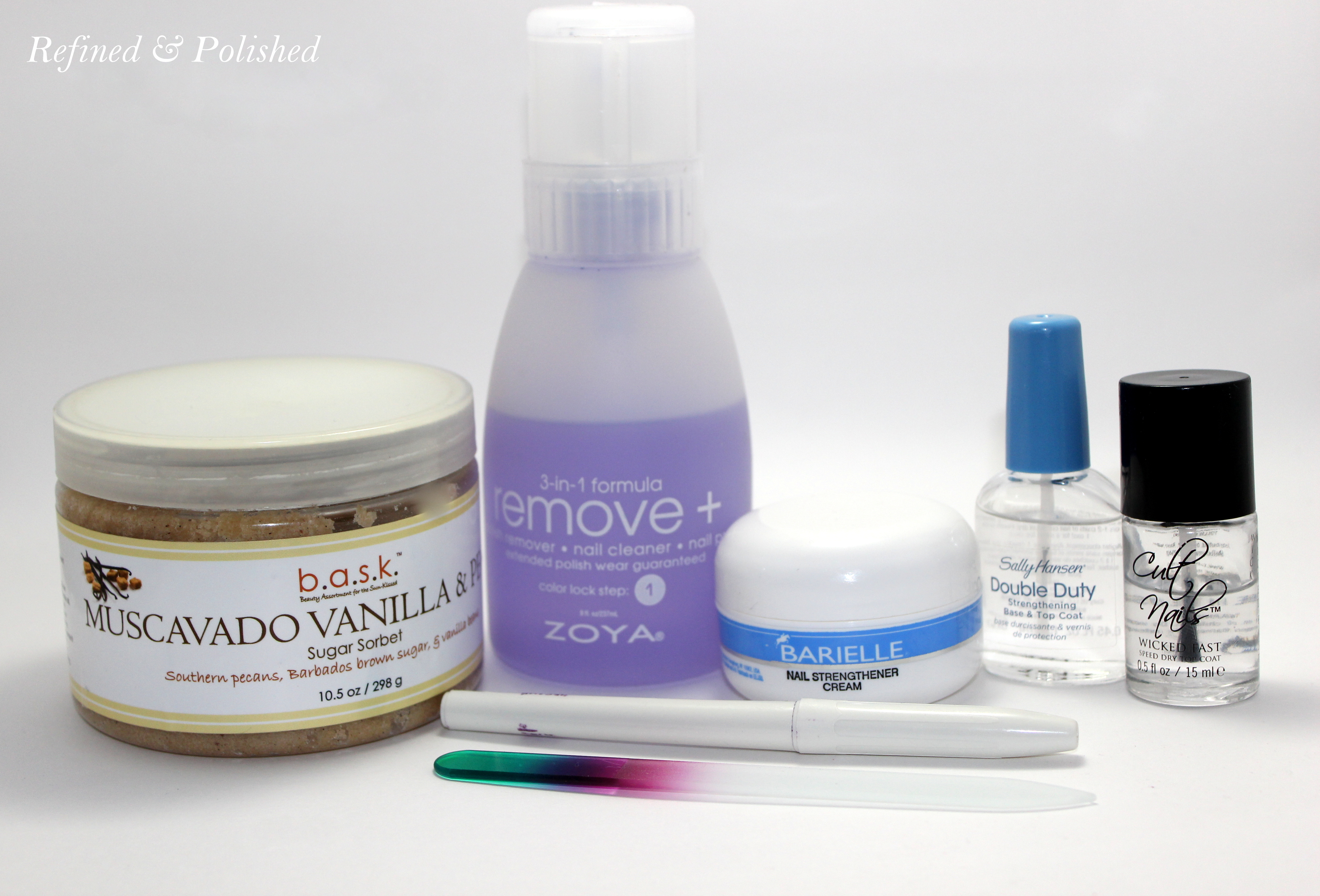 Twinsie Tuesday ~ Nail Care Routine - Refined and Polished