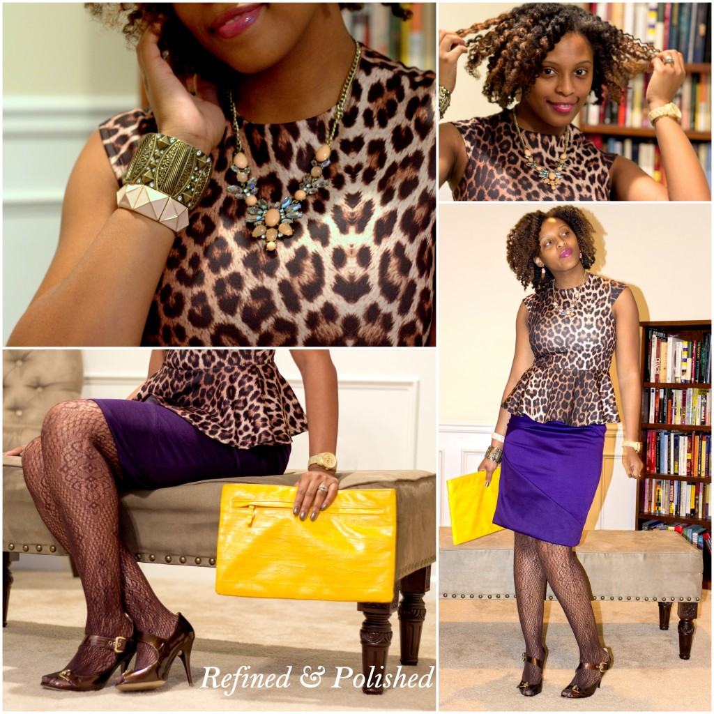 Fashion Refined Leopard & Plum