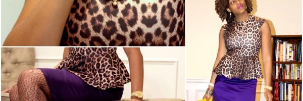 Fashion Refined Leopard & Plum