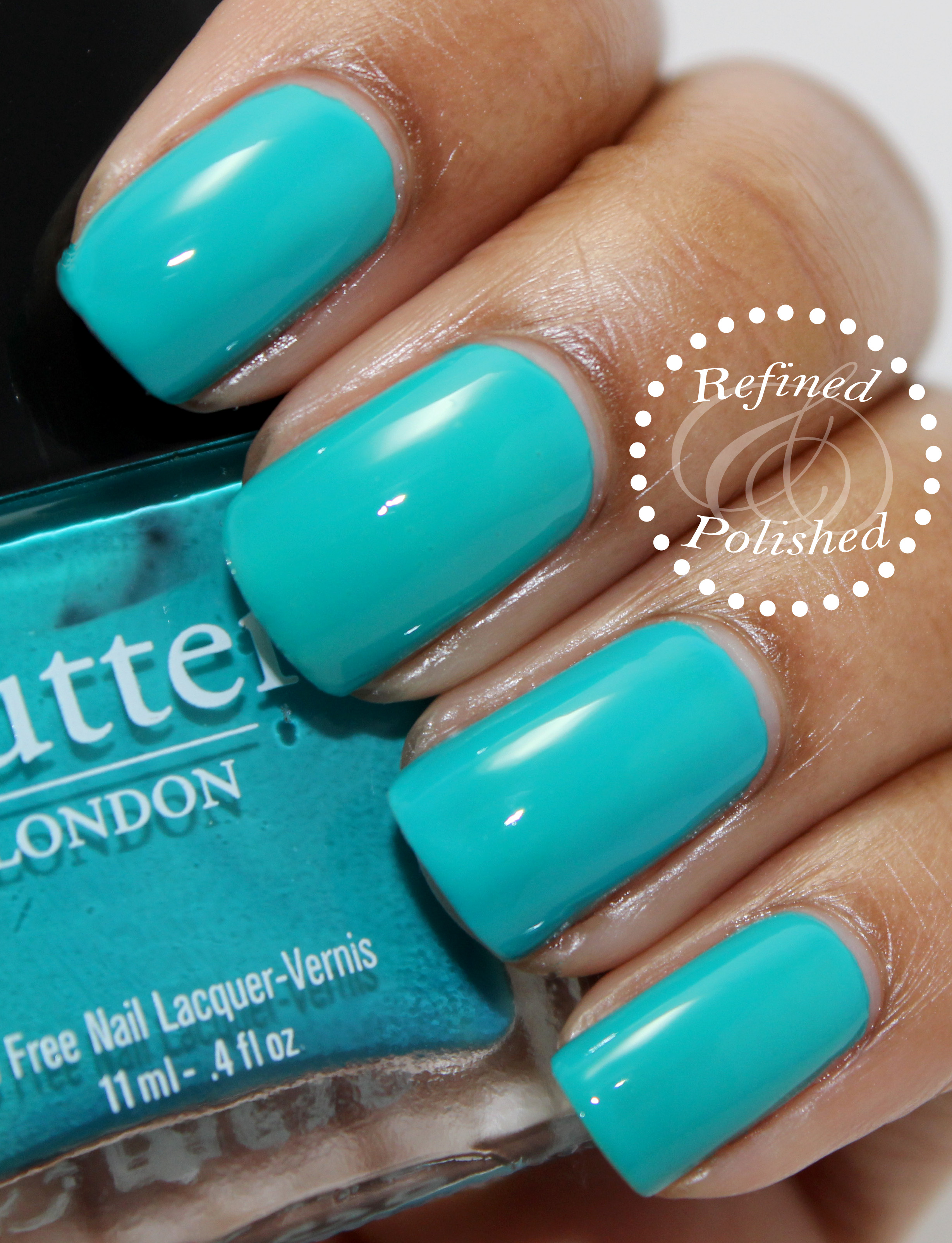 Twinsie Tuesday ~ Go-to Polish ~ Butter LONDON Slapper - Refined and Polished