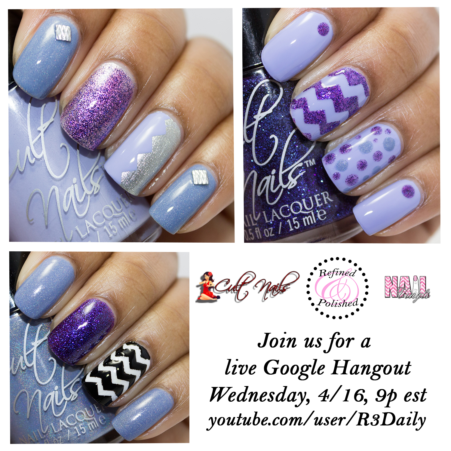 Google Hangout with Cult Nails - Refined and Polished