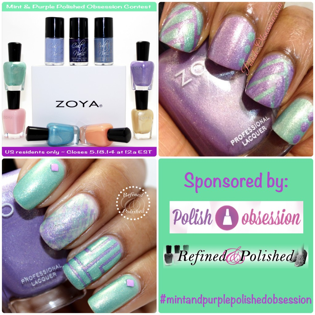 Mint-and-Purple-Polished-Obsession