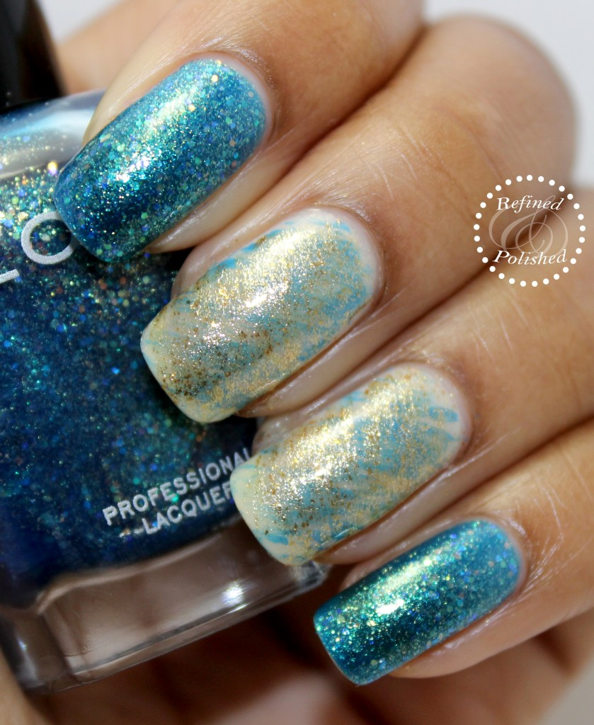 Twinsie Tuesday ~ Inspired by Nature ~ Zoya Muse - Refined and Polished